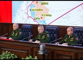 Briefing of the Ministry of Defense on the principles of the creation of de-escalation zones on the territory of Syria (Important, Subtitled in English)