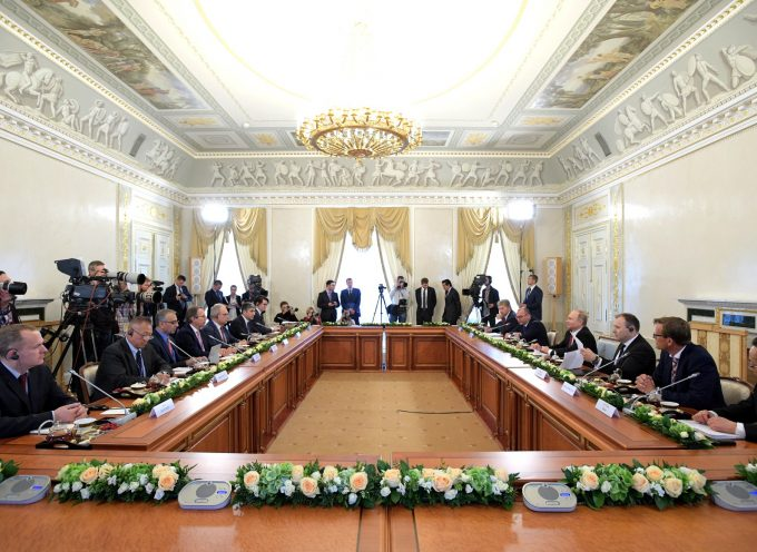 Putin's Meeting with heads of international news agencies