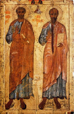 Saints Peter and Paul – July 12th