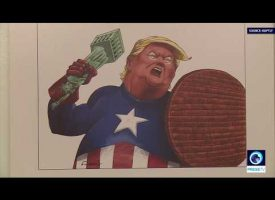 Hundreds of artists mock Trump in Tehran cartoon competition