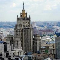 Russia's  Foreign Ministry answer to anti-Russia statements by CIA Director Mike Pompeo