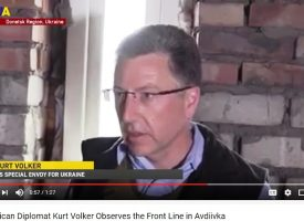 How Kiev Takes Kurt Volker for an Idiot
