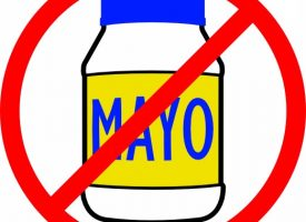 Hold the mayo – pass the grass!