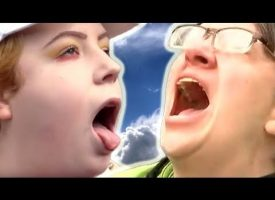 Scream helplessly at the sky!