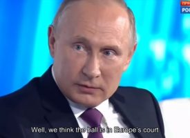 Putin's answers a US journalist on the Ukraine (UPDATED)