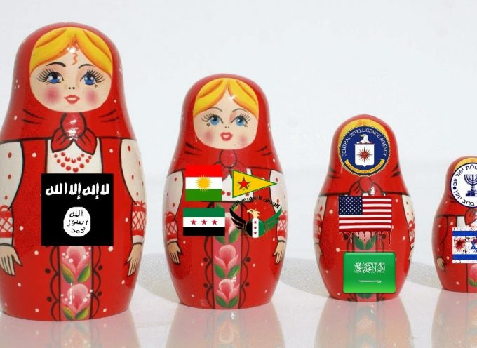 "Syrian Civil War explained with ""Russian Dolls"""