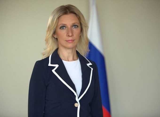 MUST SEE interview of Maria Zakharova on Russian TV (UPDATED WITH TRANSCRIPT)