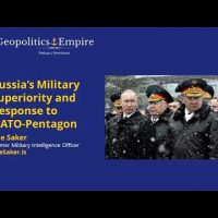 The Saker interviewed by the Geopolitics & Empire Podcast and Newsletter