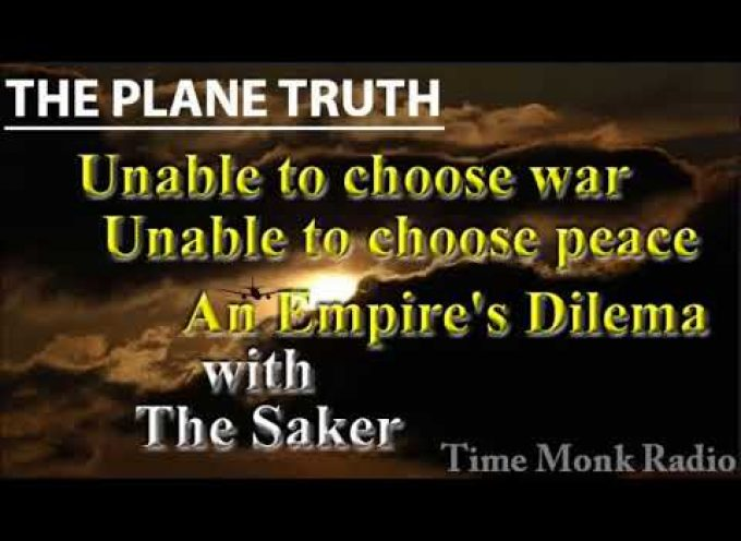 Time Monk Radio Network's The Plain Truth interviews the Saker