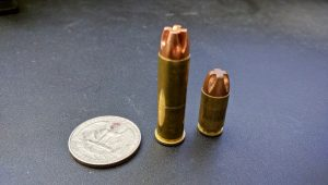 A US quarter, a .357 magnum round and a .380. You tell me, does size matter?