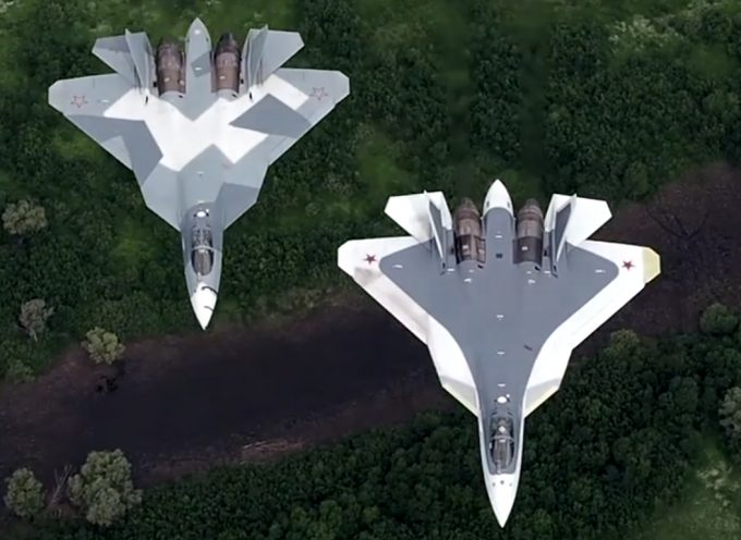 Beautiful video of the new Russian Su-57/PAK-FA/T-50