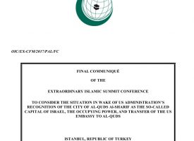 Final Communiqué of the Extraordinary Islamic Summit Conference