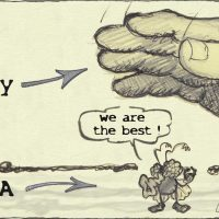 Reality vs we are the best