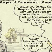 The five stages of (imperial) grief: denial