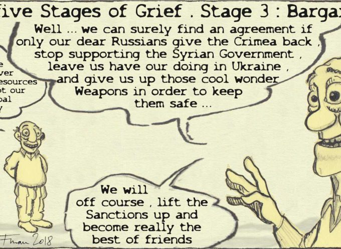 The five stages of (imperial) grief: bargaining