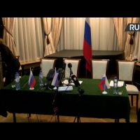 Press Conference of Alexander Shulgin, Russian Representative to the OPCW