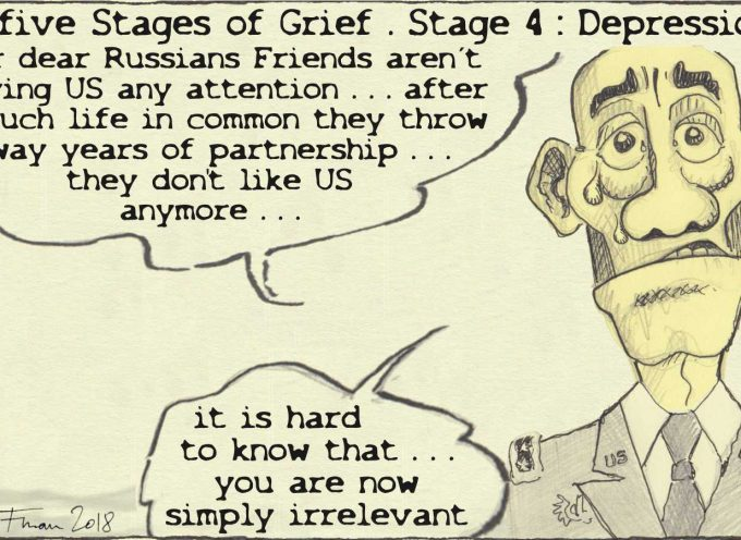 The five stages of (imperial) grief: depression