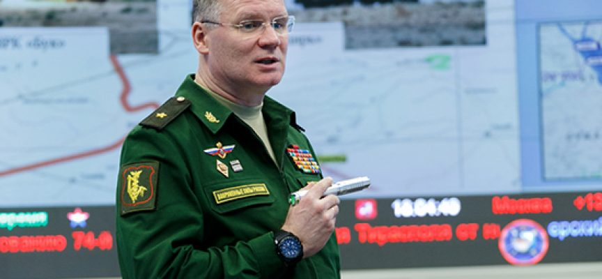 Briefing by Russian Defence Ministry official Major General Igor Konashenkov April 16, 2018