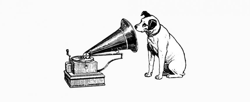 His master's voice (or how an obedient dog goes to war)