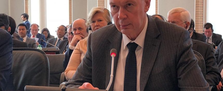 Statement of A.Shulgin at the OPCW EC