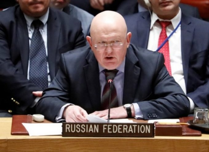 Russian ambassador to the UN Vasily Nebenzea addressing the UN SC 9 April 2018 Updated with transcript
