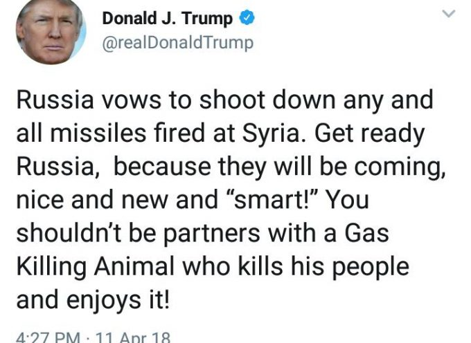 Trump tries to tweet Russia into submission