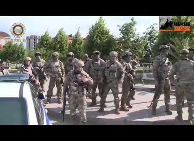 Ramzan Kadyrov personally commands rescue of Orthodox hostages in a church in Gronzy