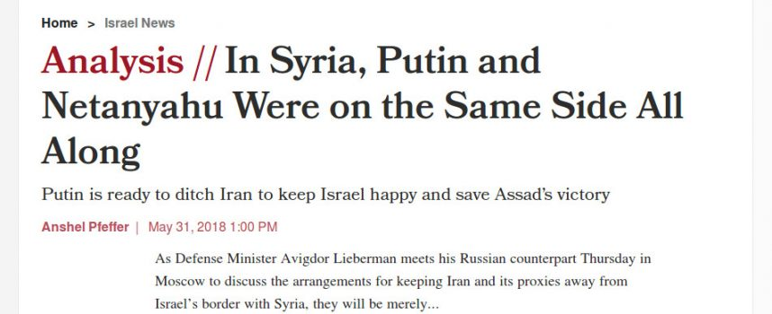 """Is Putin really ready to """"ditch"""" Iran?"""