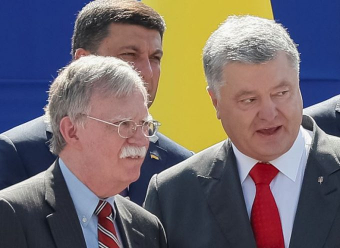 Bolton in Kiev Instead of Trump