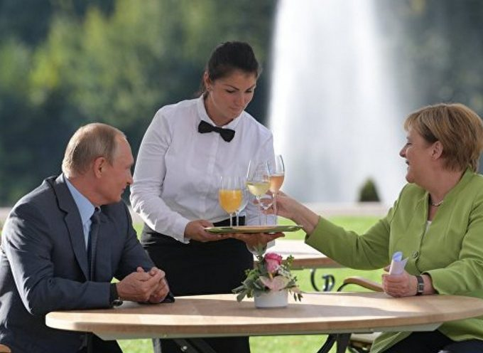 How Putin Solved the Problems of Europe and the US in Passing with Merkel