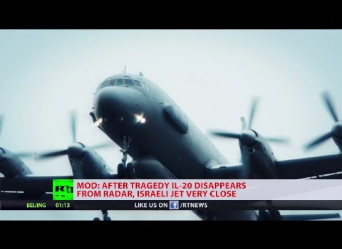 Russian MoD makes statement: New evidence on Il-20 downing off Syrian coast