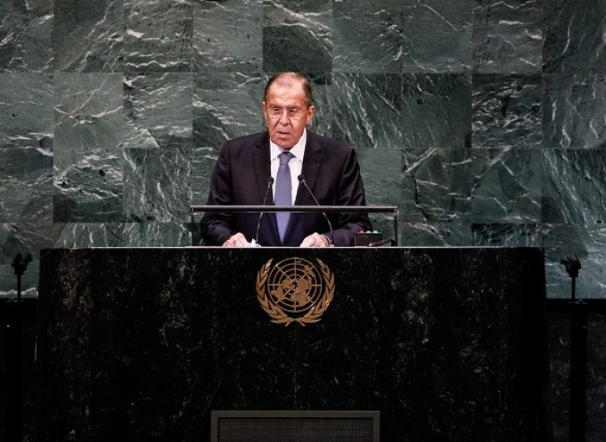 Lavrov's remarks at the 73rd session of the UN General Assembly