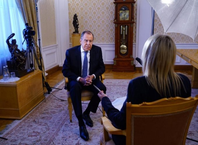 Foreign Minister Sergey Lavrov's interview with Euronews