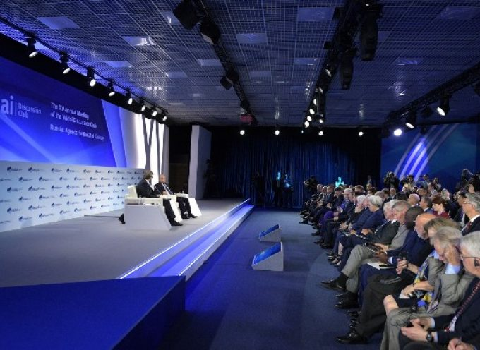President Putin's meeting of the Valdai International Discussion Club