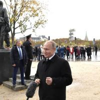 President Putin in Paris