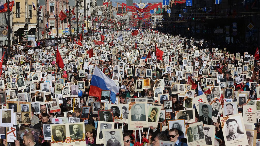 "The ""Immortal Regiment"" as an expression of the acute historical awareness of the Russian people"