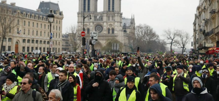 February the 22nd Gilets jaunes SITREP