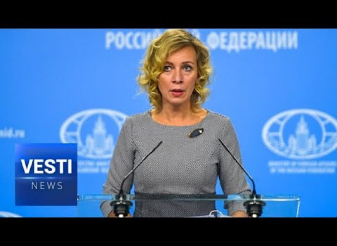 Zakharova Fires Back at Trump! US Is Arrogant and in COMPLETE Violation of Intl Law in Venezuela! (MUST SEE)