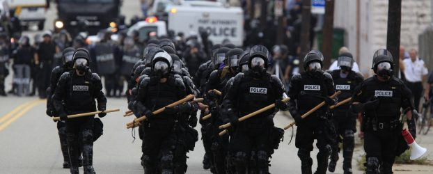 Police and political protests: a different look