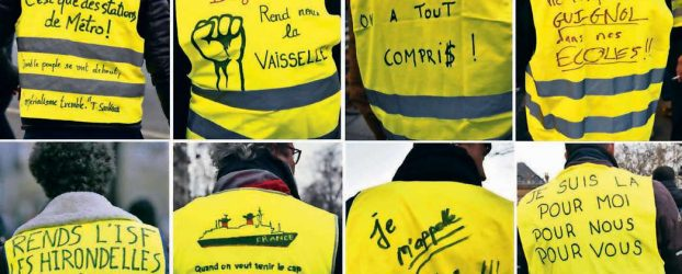 "Yellow Vests: ""A Torrent of Hope Cannot Be Stopped by Police Blocks"""