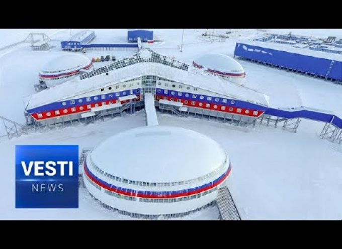 "Russian Military Base in Arctic Unveiled! Hidden ""Northern Clever"" Revealed For First Time"
