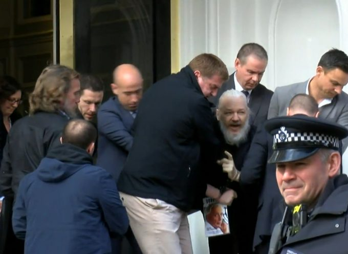 Margarita Simonian's and Maria Zakharova's reaction to the rendition of Julian Assange