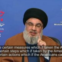 Nasrallah: 'IRGC strongest force in ME, Resistance Axis will act if US pressure escalates' – English Subs