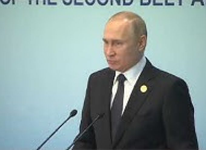 Putin Shreds Ukrainian Ultranationalists in a Powerful Press-Conference