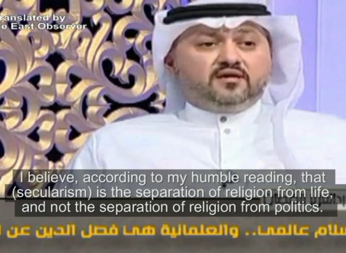 'Secularism is separation of religion from all of life, not only politics': Kuwaiti Scholar – English Subs
