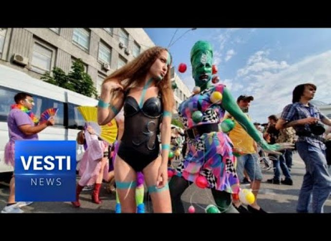 Ukraine Officially Joins the West! State-Enforced Homosexual Parade in Kiev Finally Proves It!
