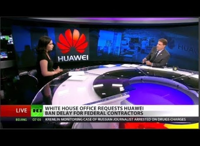 Good RT report about the (suicidal) US war on Huawei