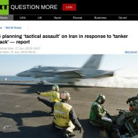 US planning 'tactical assault' on Iran in response to 'tanker attack' — report
