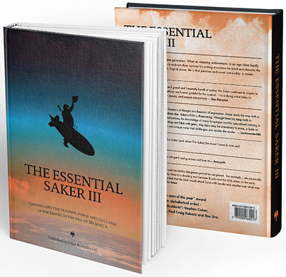 The Essential Saker III book in 3 formats