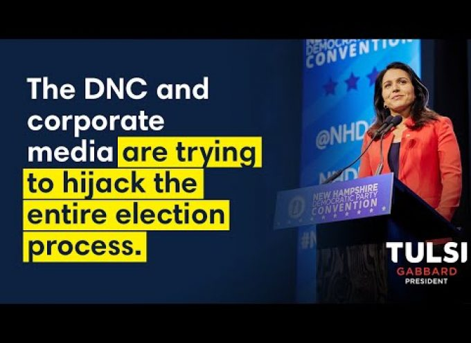 Important message from Tulsi Gabbard